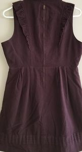 Tulle Dresses - M Purple Tulle Dress with button details